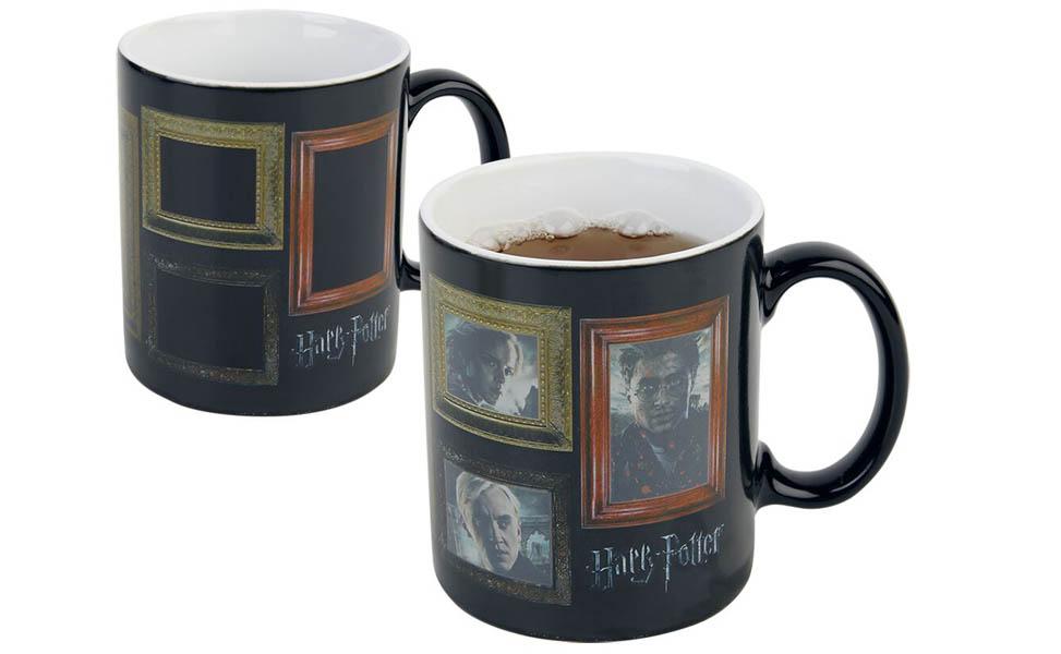 Harry Potter portretter med fjes krus