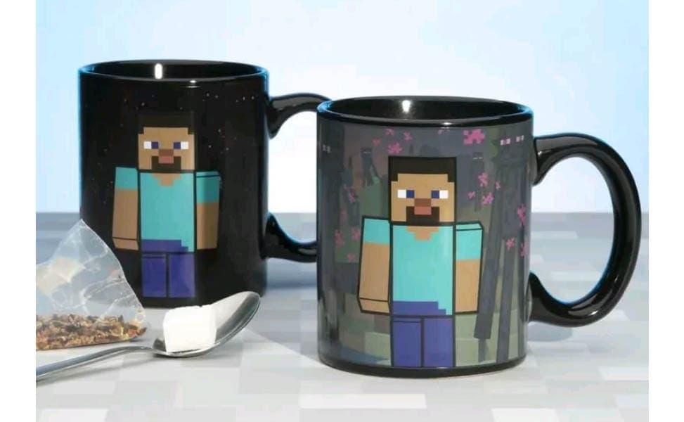 Minecraft Enderman Heat Change Mug
