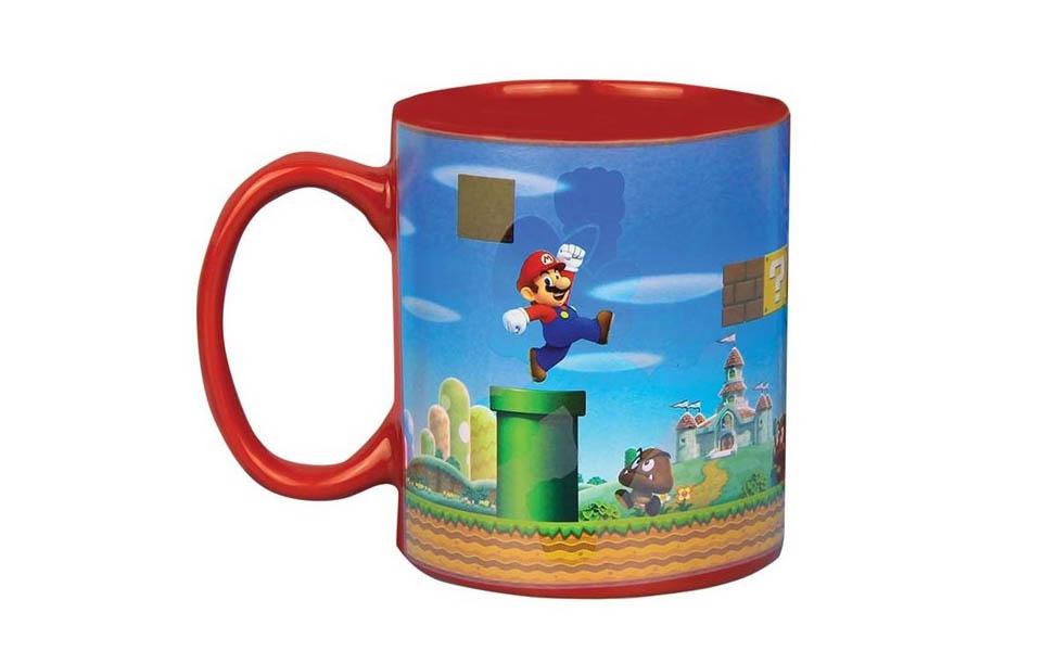Super Mario varmefolsomt krus