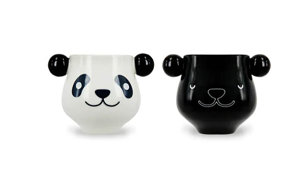 fargeskiftende panda kopp