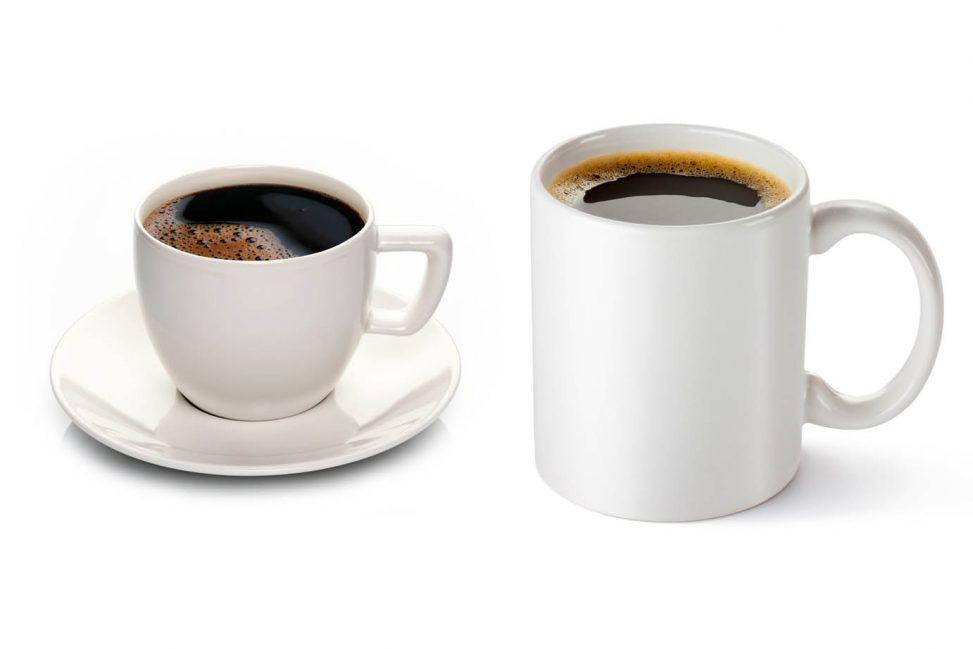 Forskjellen på kopp og krus