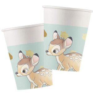 8 stk Pappkrus 200 ml - Bambi