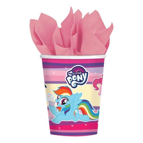 Pappkrus My Little Pony - 8-pakning