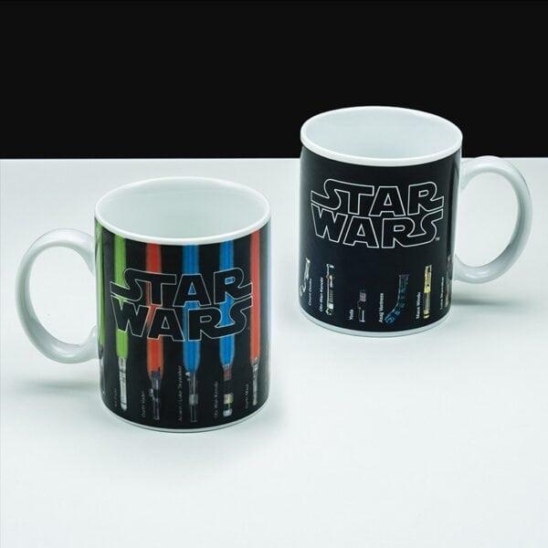 Star Wars Värmekänslig Mugg Lightsabers