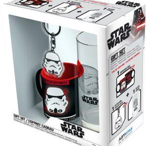 Stormtrooper Gavesett: Krus, Glass, Nøkkelring - Star Wars