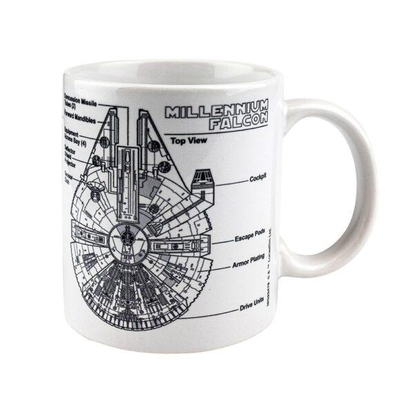 Star Wars, Krus - Millennium Falcon Sketch